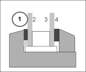 Склеивание на позиции 1