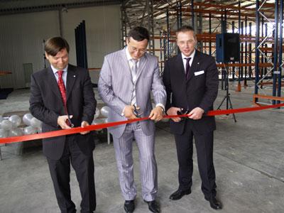 Открытие нового центра логистики и четвертого склада в Одессе