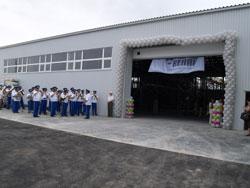 Новый логистический центр компании REHAU