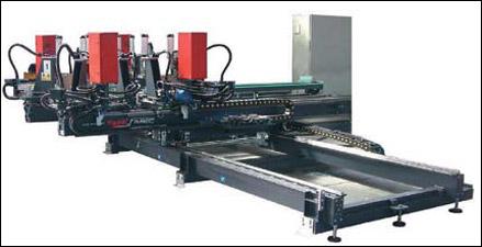 Четырехголовочный сварочный автомат SL4Q