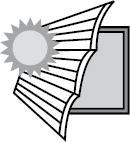 Защита от солнца и светового потока