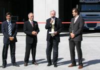 Поздравление хозяев Алюпласт GmbH