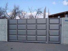 Ворота новинка в Крыму