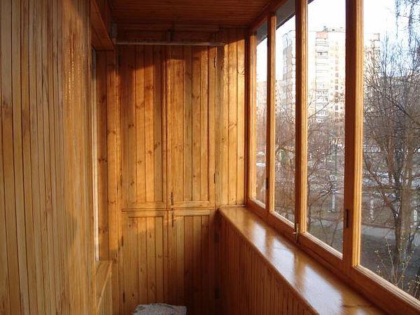 Балконы деревянные