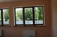 Балконные блоки из дерева со стеклопакетом