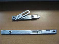Шпингалет-задвижка штульповый, металлический оконный