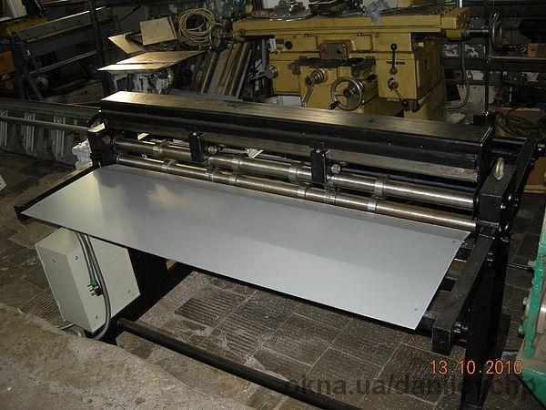 Распускной станок для листового металла штрипсорез.