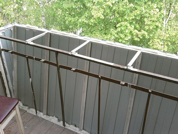 Балконы. Разварка.