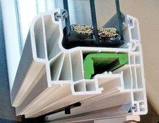 Замена контура уплотнения (резинок) металлопластиковых окон и дверей.
