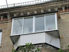 Раздвижные алюминиевые балконы 3000 мм Х 1500 мм четыре секции