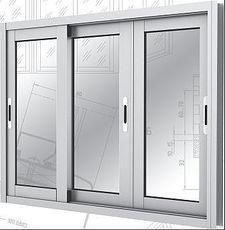 Раздвижной алюминиевый балкон три секции 3 м Х 1.5 м