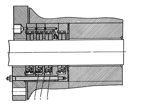 Сальник поршневого компрессора