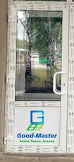Двери входные металлопластиковые 2000*900 от компании Good Master