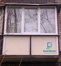 Рама на балкон с монтажом от компании Good Master