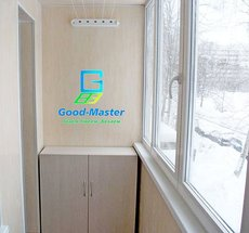 Рама на балкон стоимость с установкой и подъёмом на этаж от компании Good Master