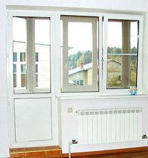 балконный блок WDS, фурнитура Roto+энергосберегающие стеклопакеты от компании Good Master