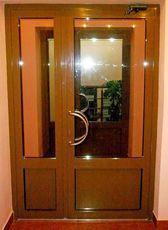 Двери ПВХ входные от компании Good Master
