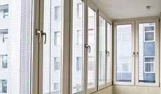 Балконная рама aluplast, П-обр. в пятиэтажку от компании Good Master Харьков