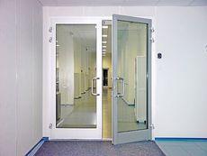 Двери входные распашные 2100*1200 от компании Good Master