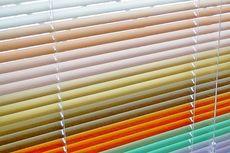 Жалюзи горизонтальные цветные алюминиевые от компании Good Master