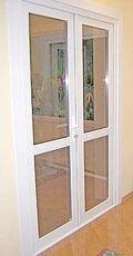 Металлопластиковые входные двери 2-х створчатые от компании Good Master