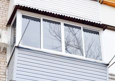 Рама на балкон/лоджию WDS, немецкая фурнитура Roto от компании Good Master