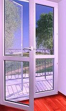 Выход на балкон с монтажом от компании Good Master