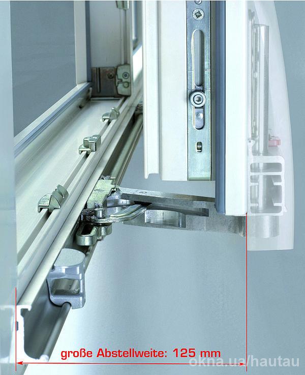 Atrium HKS® – откидная и сдвижная фурнитура.