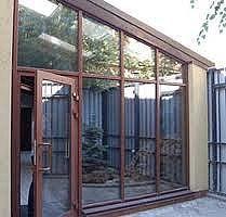 Окна и двери из аллюминия