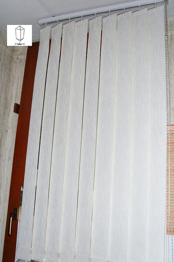 Жалюзи вертикальные тканевые