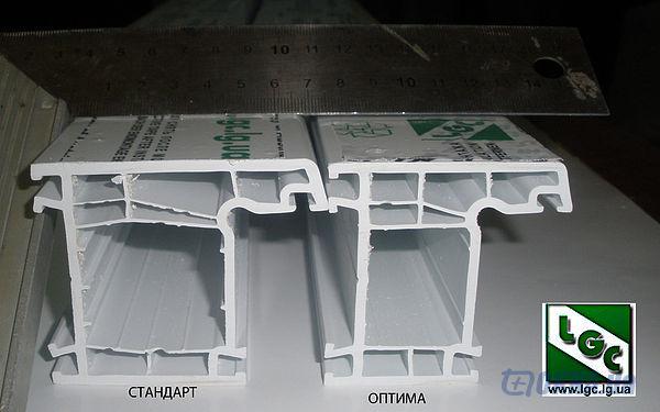 Рама пвх для металлопластиковых окон
