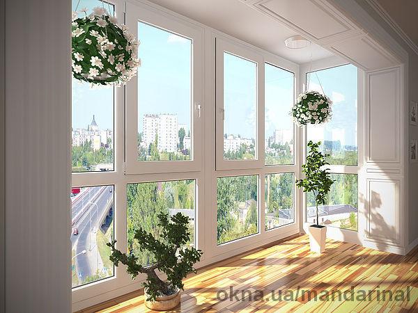 Балконы от пола