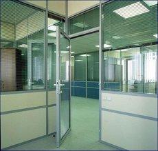 Алюминиевые офисные и межкомнатные перегородки
