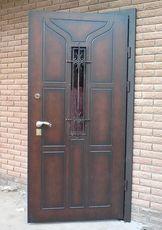 Изготовление металлических входных дверей.