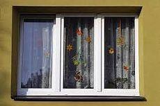 Окно трехчастное, профиль Hoffen, фурнитура Siegenia стеклопакет однокамерный с энергосбережением