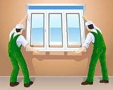 Окно в комнату с двумя открываниями, профиль Rehau E60, фурнитура Vorne стеклопакет однокамерный.