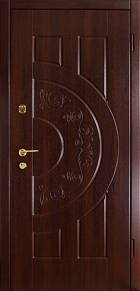 Бронированные двери с МДФ панелями
