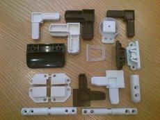 Комплектующие к москитным сеткам серий (универсальная) 10х20 серии (дверная) 17х25 оконная 11х32 Анвис