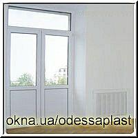 Дверь балконная в Сталинском доме REHAU euro60 ширина 1230мм высота 2650мм