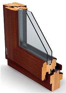 Окна деревянные сосны и дуба