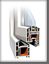 Окна, двери, металллопластиковые Almplast (Украина) 3-х камарный профиль