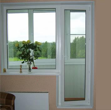 Балконный блок (металлопластиковый) . Отделка, утепление и остекление  балконов . Сравнить цены на Окна.ua