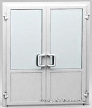 Фасадные двери ПВХ
