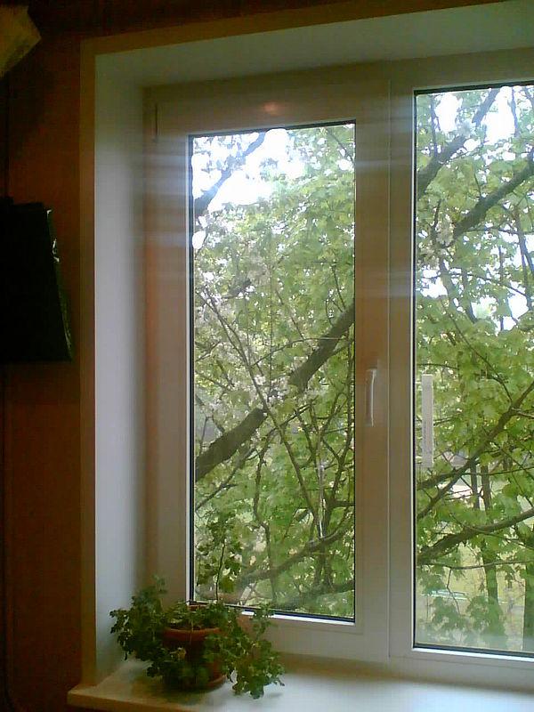 Окна Харьков, окна откосы, установка окон, Внутренние и наружные откосы