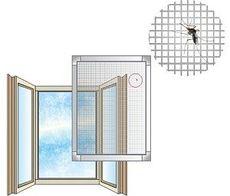 Москитные сетки на пластиковые окна и двери от фабрики окон Открытые окна