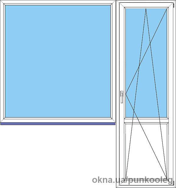 Окно (Балконный-блок)