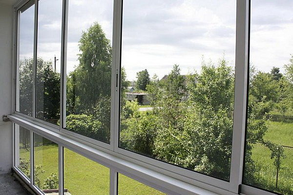 Раздвижная система для балкона и лоджии ALT-100 (ALUTECH)