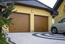Ворота секційні гаражні Krispol