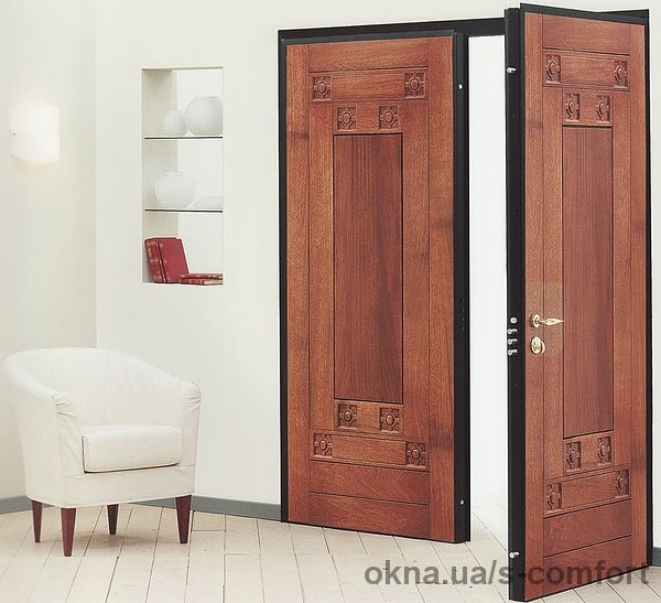 Бронированные входные двери от производителя в Днепропетровске от 2000 грн.