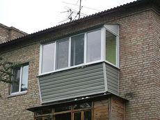 Балкон утеплённый